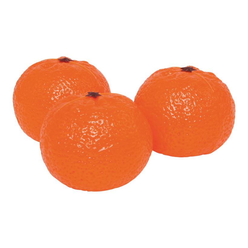# Mandarine, Ø 6cm, 3Stck./Btl., Kunststoff