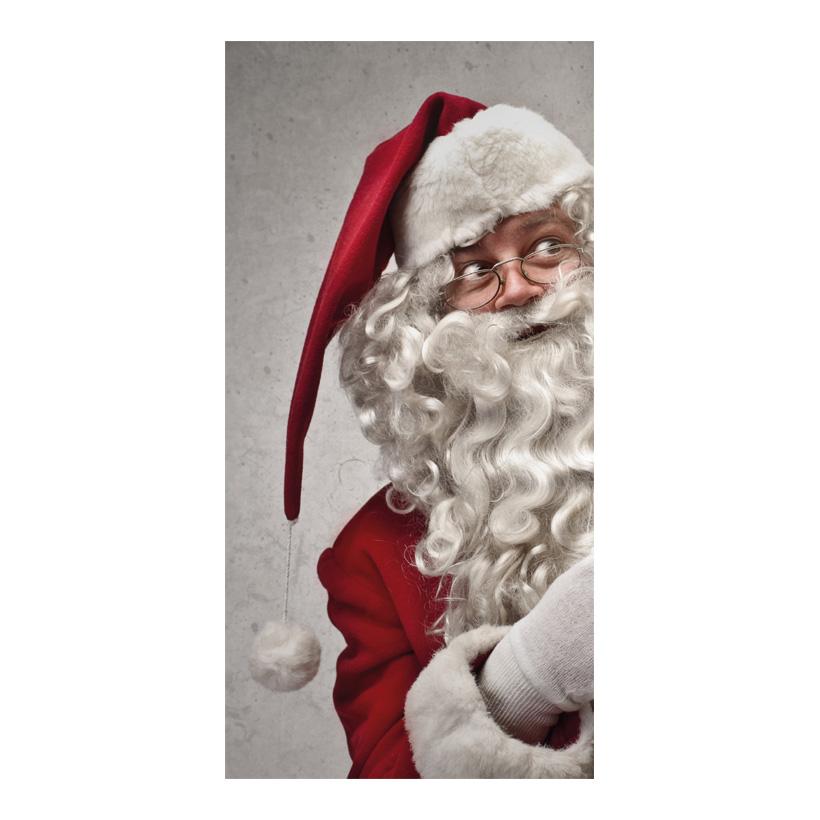 """# Motivdruck """"Funny Santa"""", 180x90cm Stoff"""