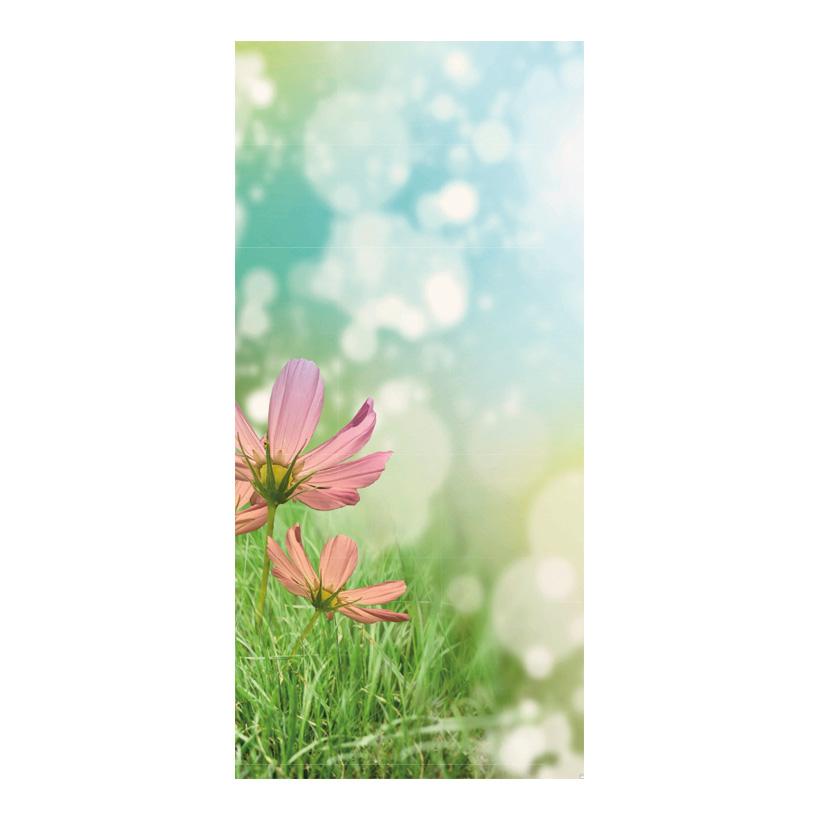 "# Motivdruck ""Frühlingsblumen"", 180x90cm Papier"