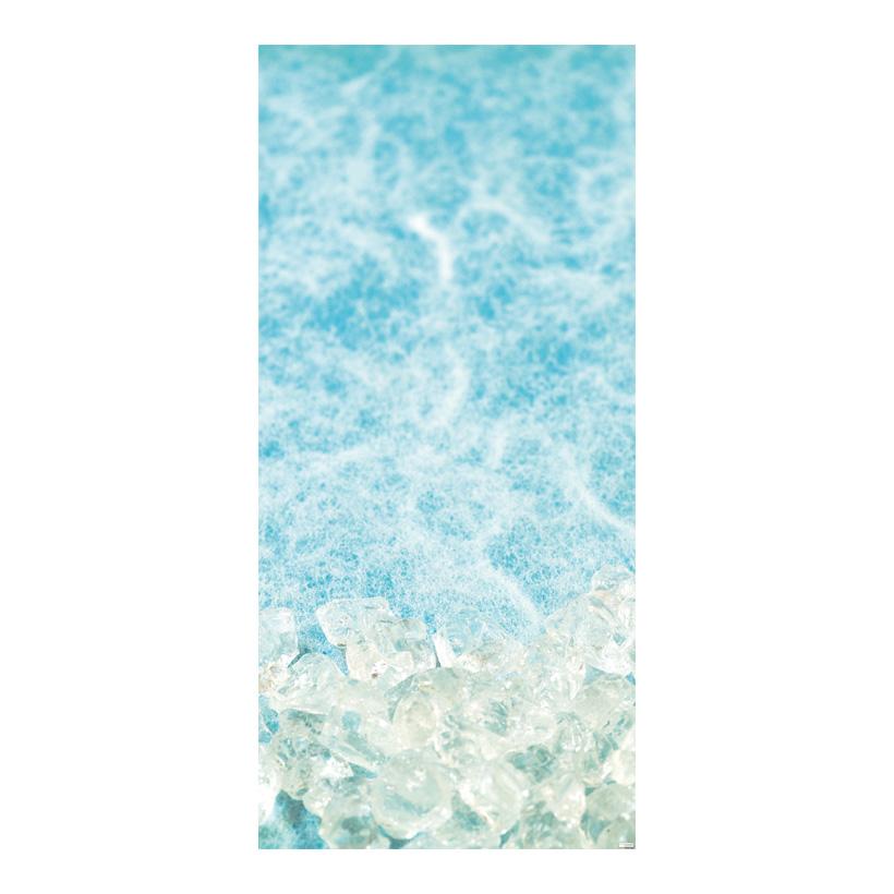"# Motivdruck ""Eiswürfel"", 180x90cm aus Papier"