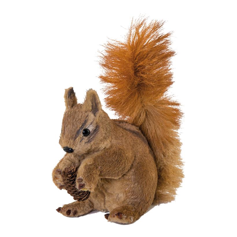Eichhörnchen, 30x14x28cm sitzend