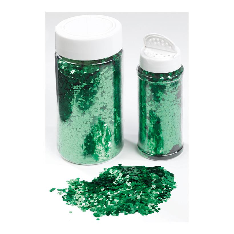 Glimmer in Streudose, 250gr./Dose, grob, Kunststoff