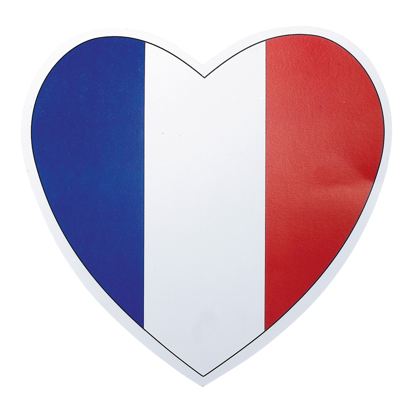 # Herz Frankreich 29x29 cm Karton