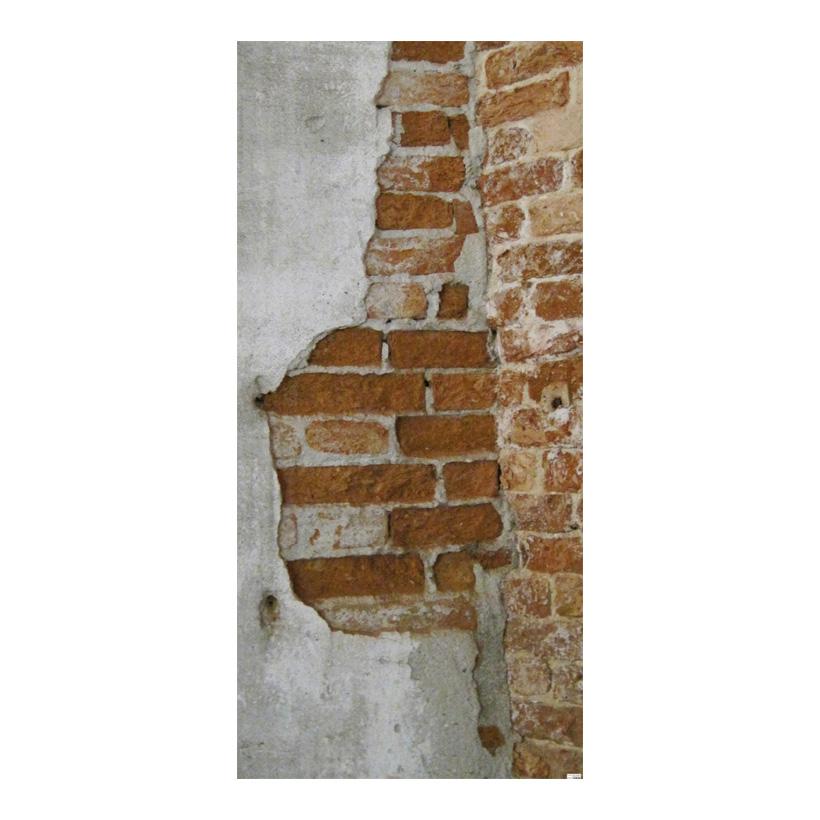 """# Motivdruck """"Altes Mauerwerk"""", 180x90cm Stoff"""