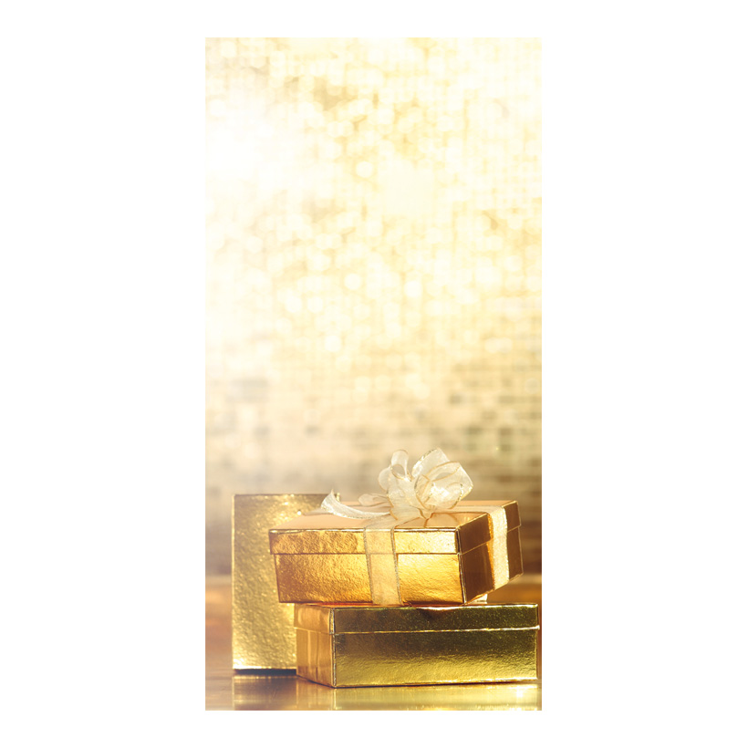 """# Motivdruck """"Geschenkpäckchen"""", 180x90cm Stoff"""
