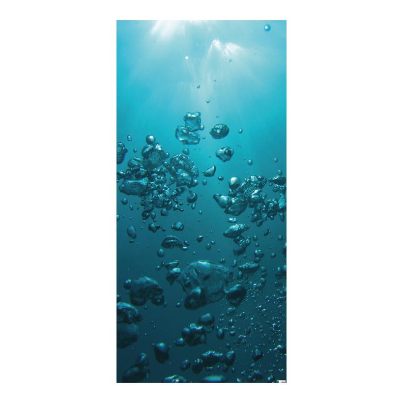"""# Motivdruck """"Luftblasen"""", 180x90cm Papier"""