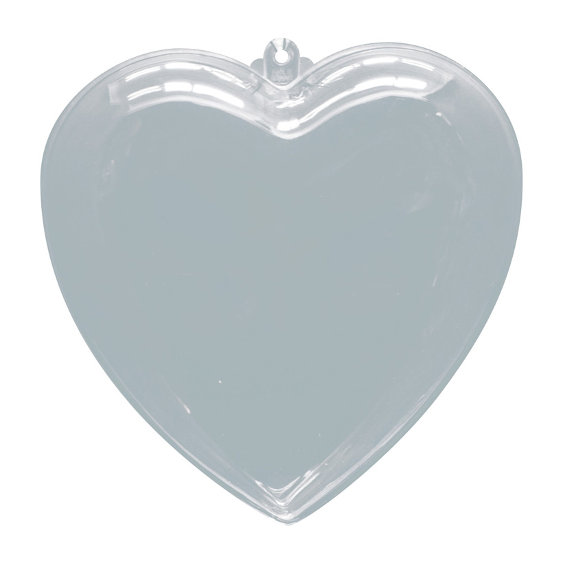# Herz, Ø 8cm, Kunststoff, 2 Hälften, zum Befüllen