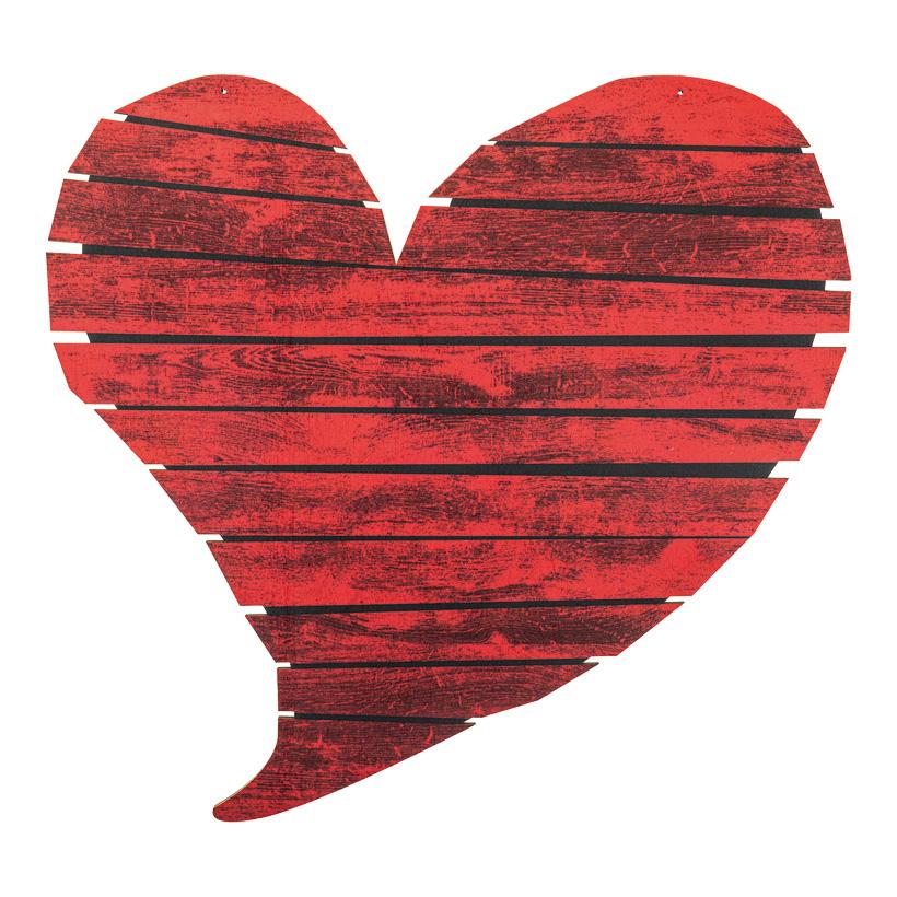 Herz, 65x61cm mit Hängeösen aus Holz