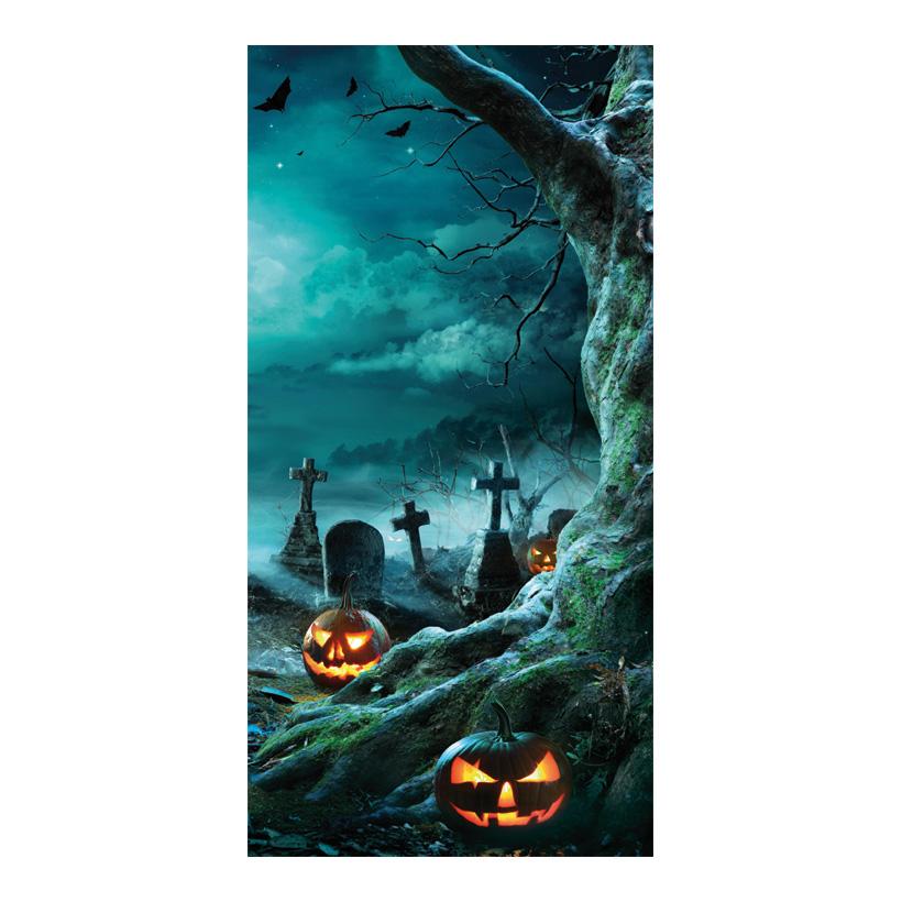 """# Motivdruck """"Pumpkin Party"""", 180x90cm Papier"""