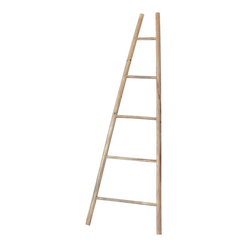 Leiter, 170x20x60cm, konisch, Holz