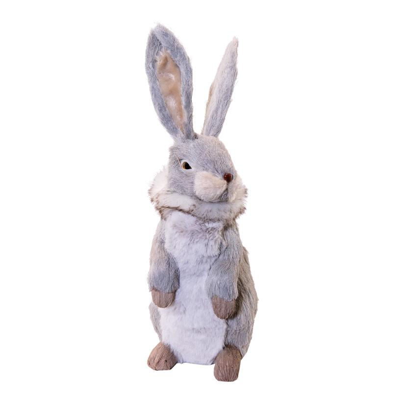 Hase, H: 33cm stehend, aus Styropor & Kunstfaser