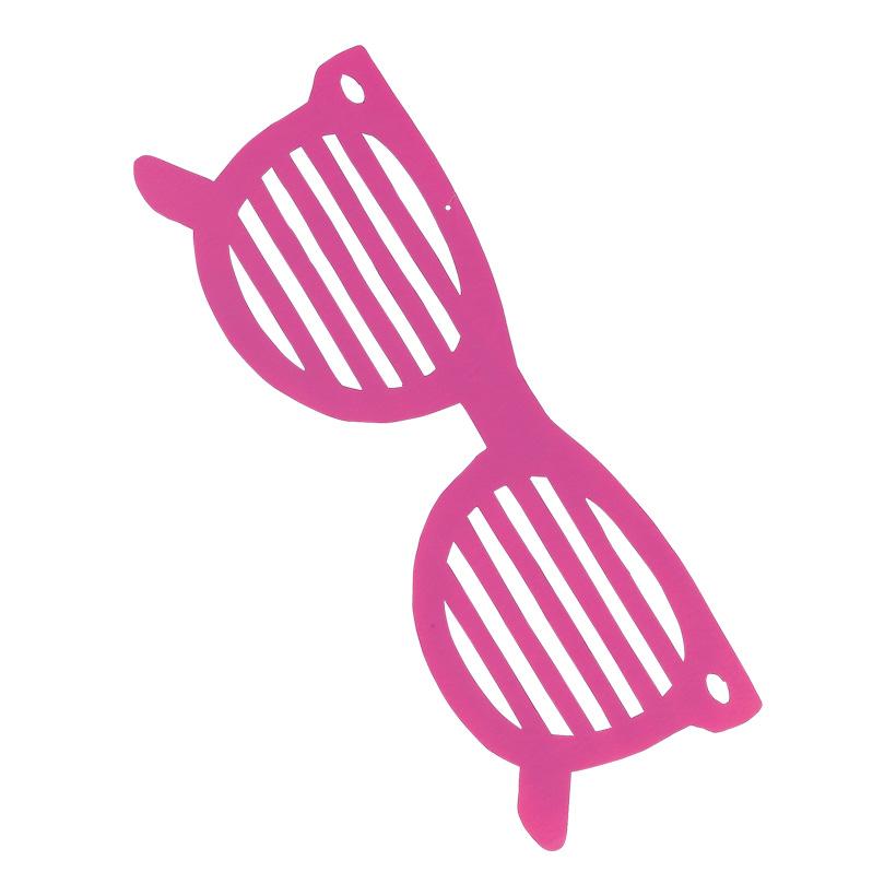 # Sonnenbrille, 23x67cm, aus Karton, doppelseitig, schwer entflammbar nach B1