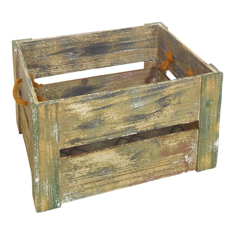 # Lattenkiste 40x32x23 cm Holz, gewischt
