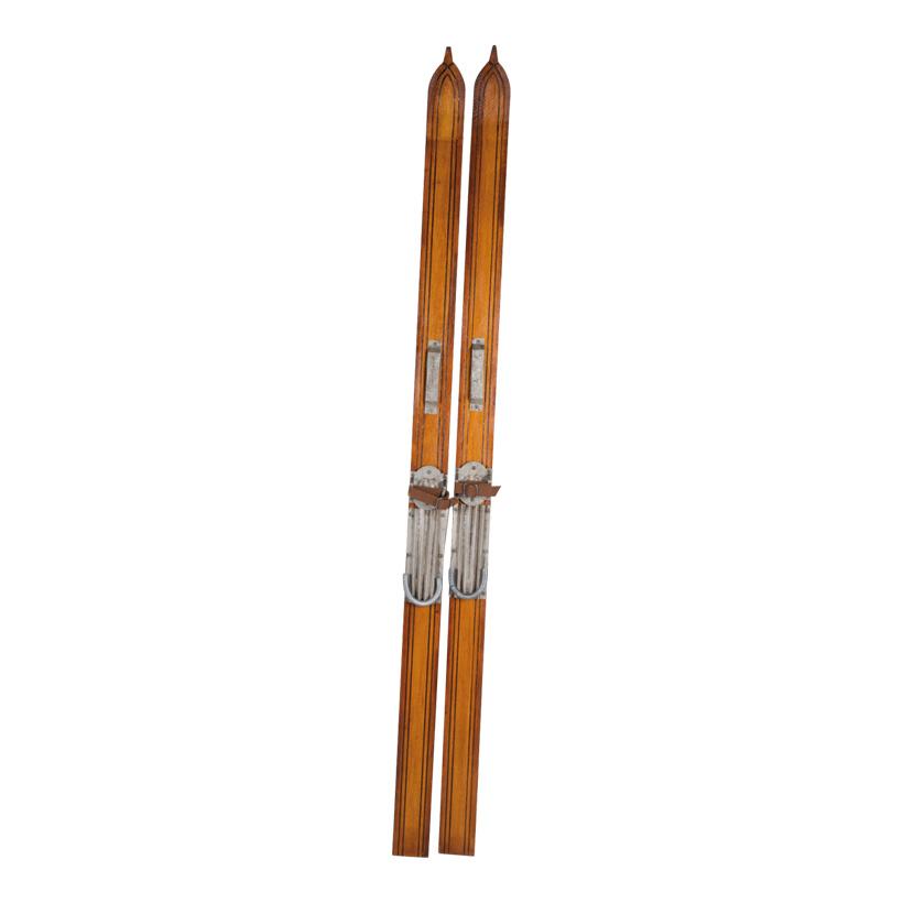 Skiset, 180cm, 2tlg.Satz, Holz