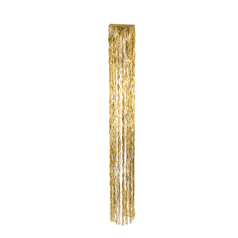 Lamettahänger, rund, Ø 28cm, 250cm, Metallfolie