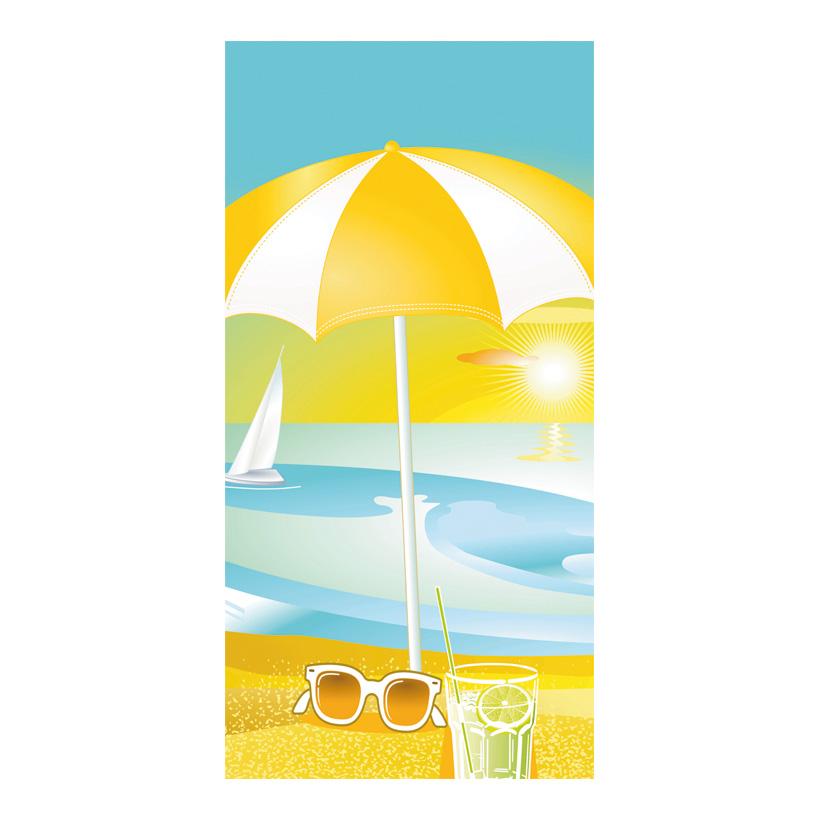 "# Motivdruck ""Beach Life"", 180x90cm Papier"