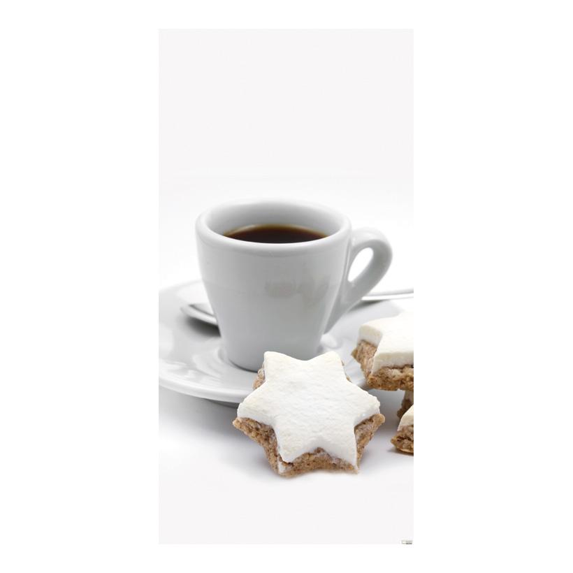 "# Motivdruck ""Kaffeetasse"", 180x90cm Stoff"
