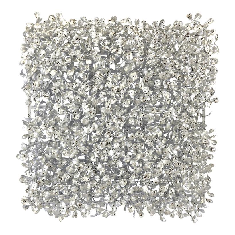 Buchsbaumplatte, 25x25cm, 100-fach, PVC