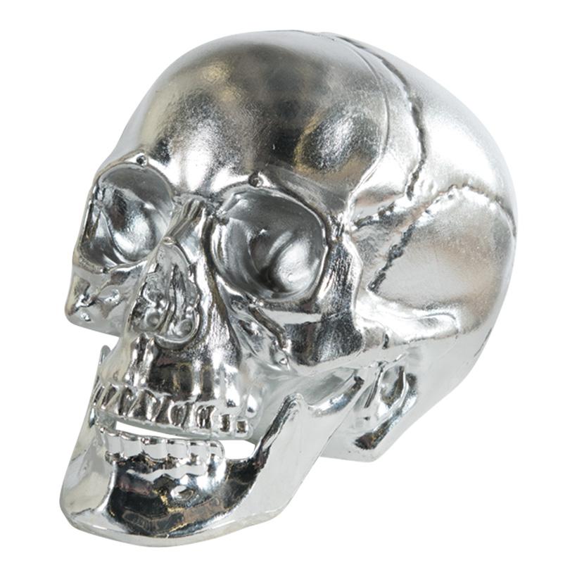 Totenkopf, 16cm aus Kunststoff, glänzend