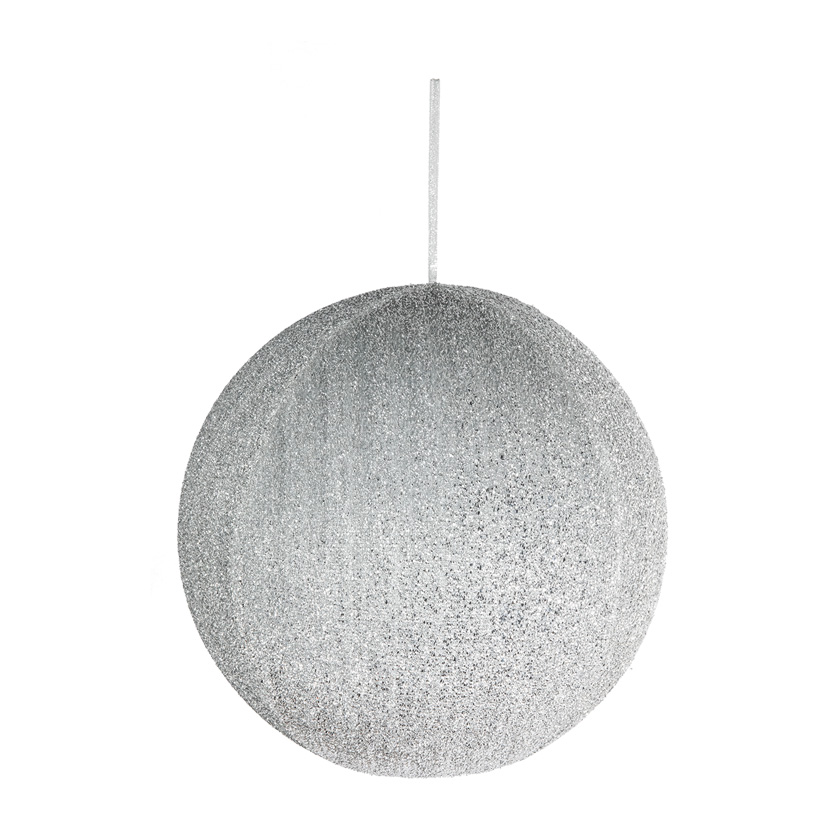 Textil-Weihnachtskugel, Ø 40cm aufblasbar