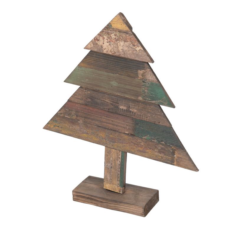 Deko-Holzbaum, 60x50cm tannenförmig