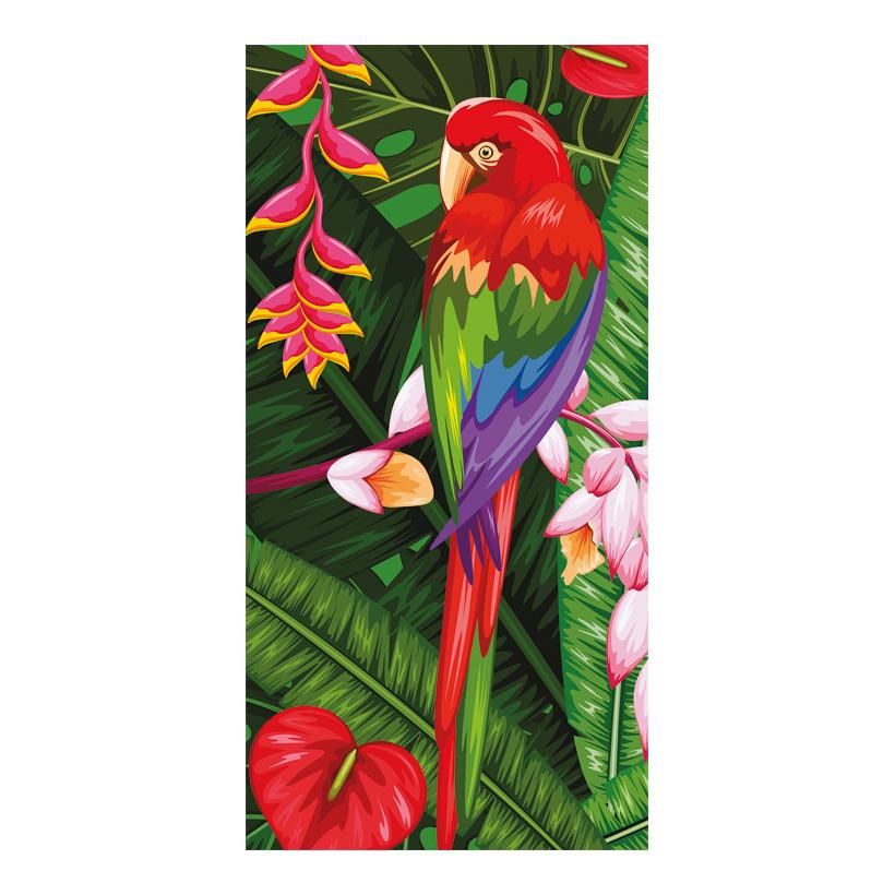 """# Motivdruck """"Exotic Jungle"""", 180x90cm Papier"""