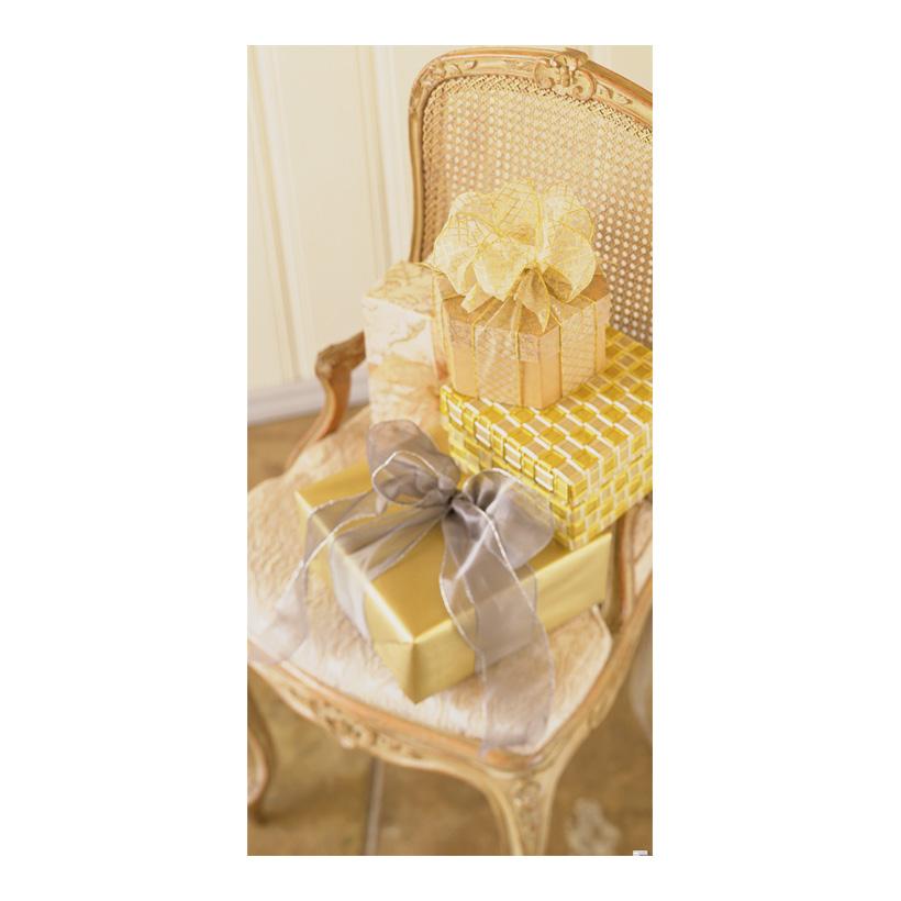 "# Motivdruck ""Golden Chair"", 180x90cm Stoff"