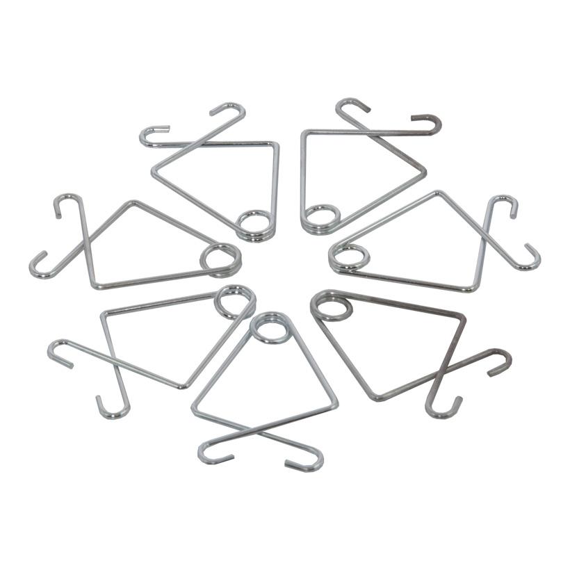 # Deckenklemme, 31mm, 100Stck./Btl., verzinkt, Ø 1mm