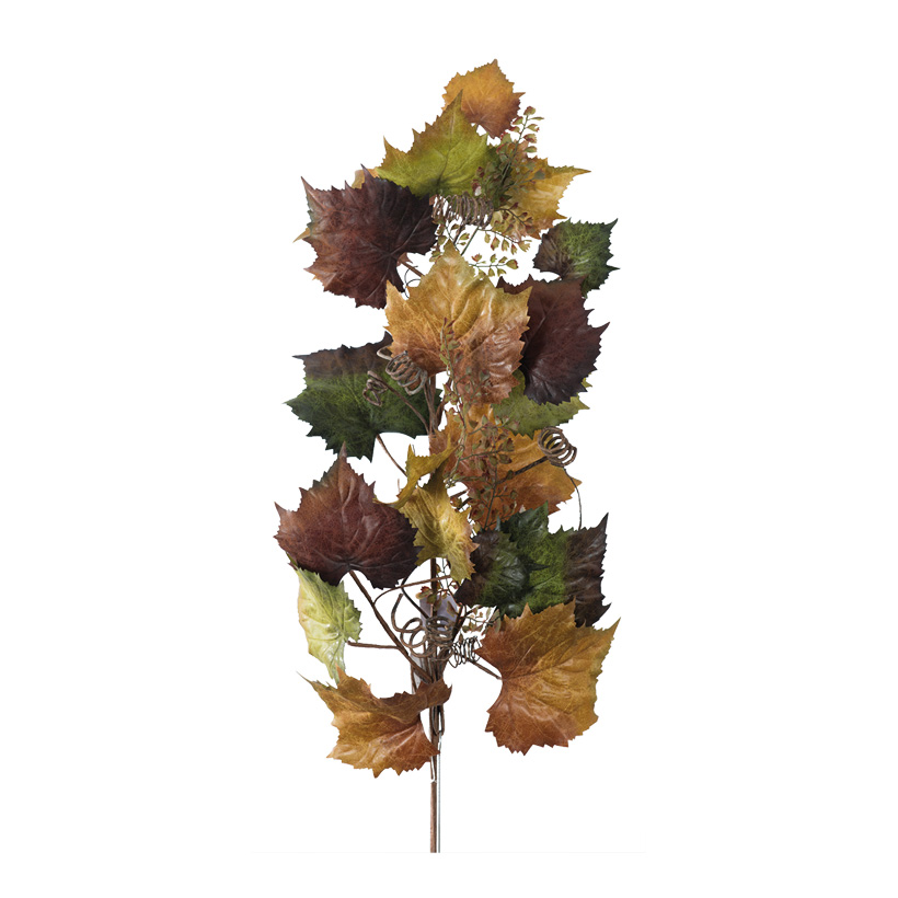 Weinlaubzweig, 85cm dekoriert