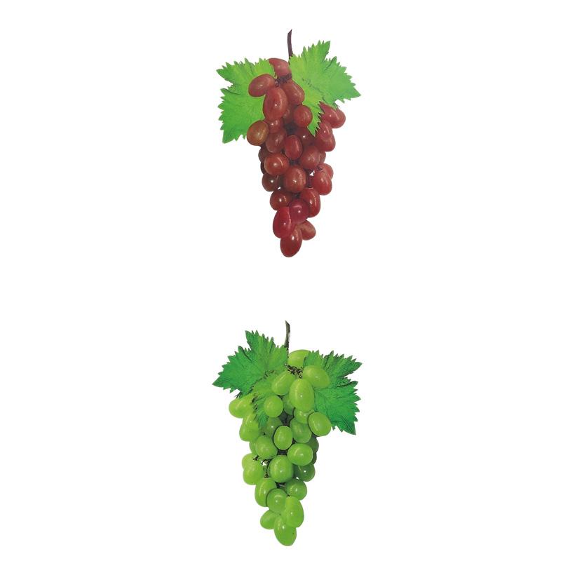 # Weintraubenhänger 50 cm lang, aus Papier, 2 Traubenbündel je 22x15 cm, doppelseitig bedruckt