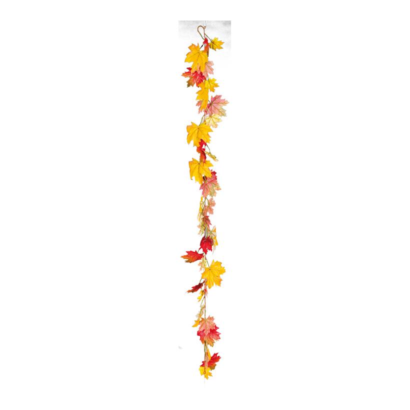Ahornblattgirlande, 180cm ca. 35 große Blätter