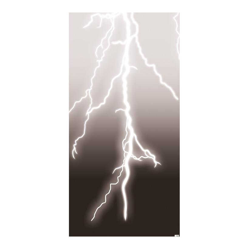 """# Motivdruck """"Gewitter"""", 180x90cm Stoff"""