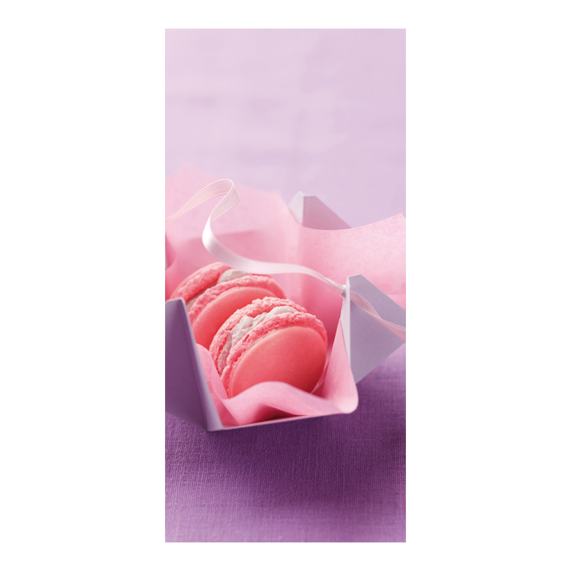 "# Motivdruck ""Macarons"", 180x90cm Stoff"