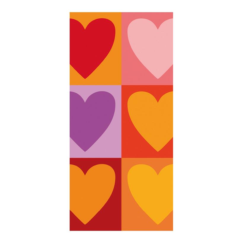 "# Motivdruck ""Love"", 180x90cm Stoff"