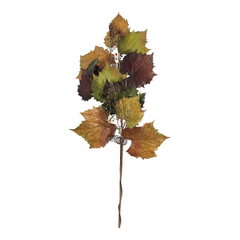 Weinlaubzweig, 107cm dekoriert