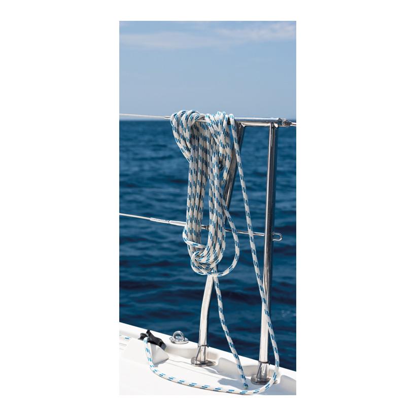 "# Motivdruck ""Reling"", 180x90cm Stoff"