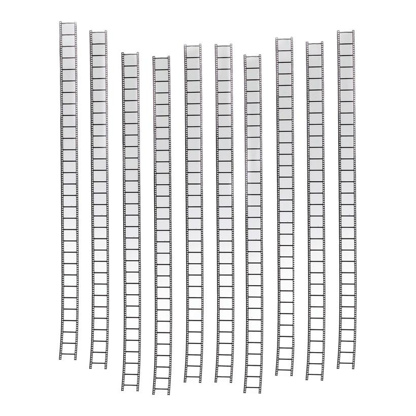 # Filmstreifen 98x5 cm PVC, 10-tlg./Satz