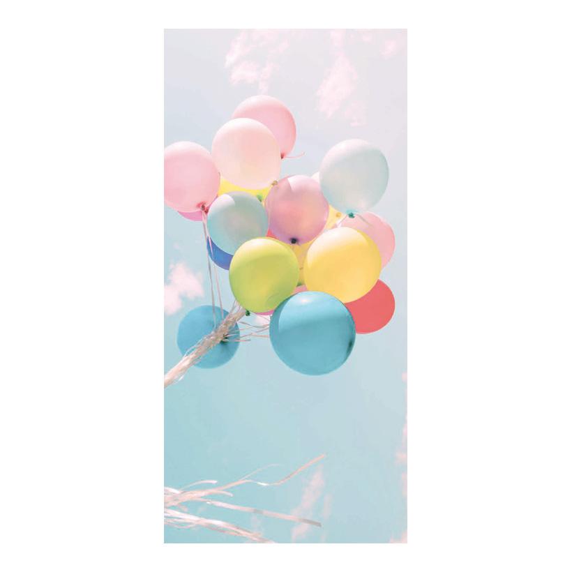 "# Motivdruck ""Ballons"", 180x90cm Stoff"