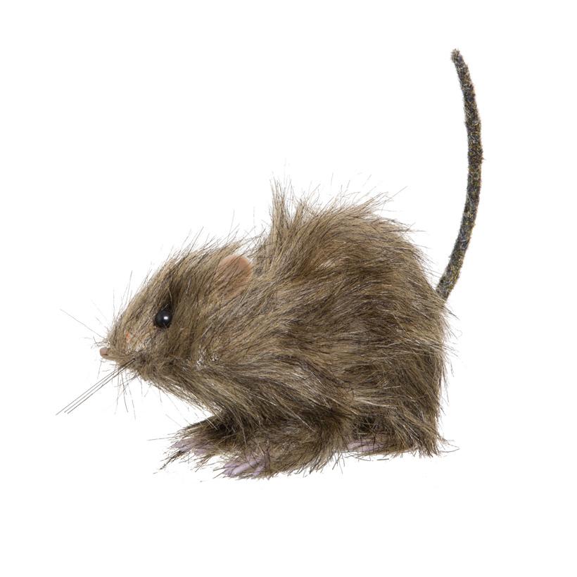 Ratte, 15x7x9cm, Styropor
