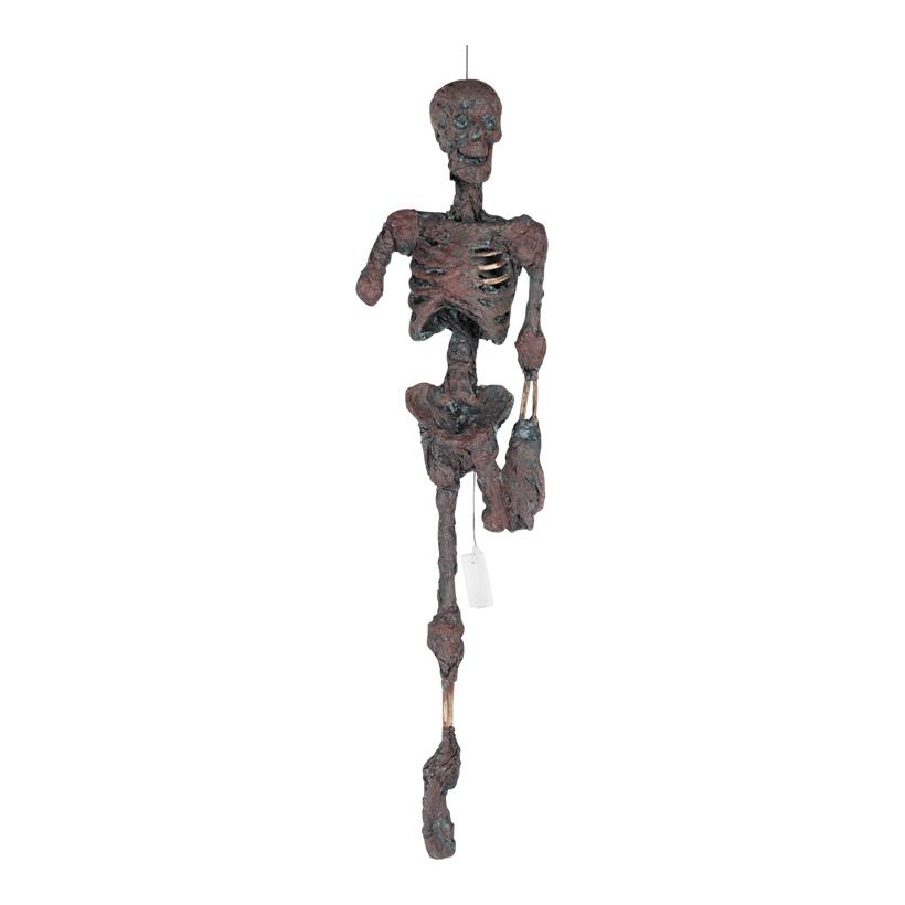 Zombie-Skelett  mit Hänger, 100cm
