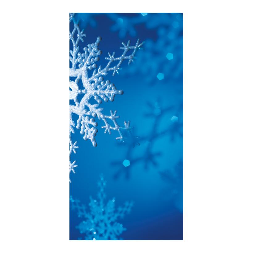 "# Motivdruck ""Eiskristall"", 180x90cm Papier"