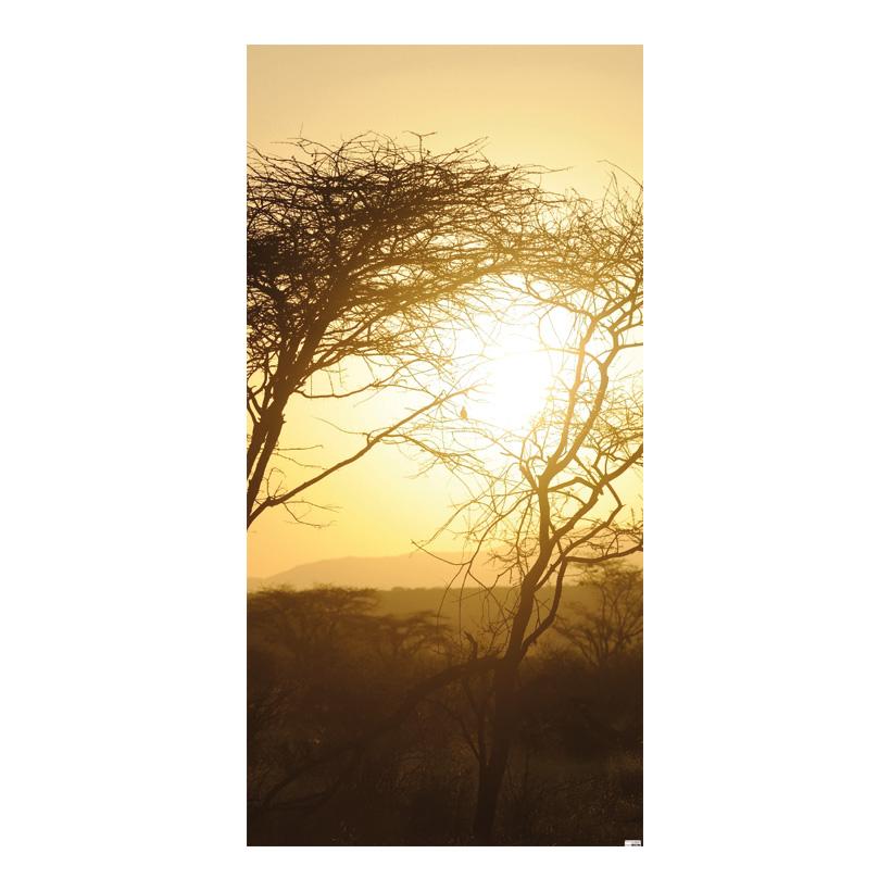 "# Motivdruck ""Afrika"", 180x90cm Papier"
