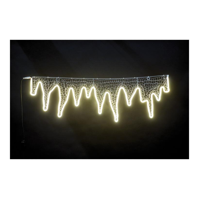 Neon-Lichtvries, 110x36cm mit 120 LEDs, 230V, IP44 Stecker für außen, 1,5m Zuleitung