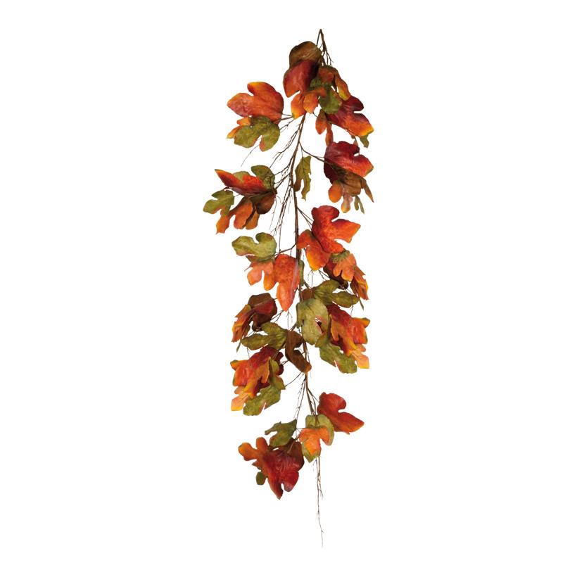 Kastanienblattgirlande, 180cm, Kunstseide