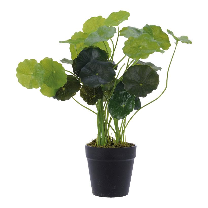 # Kunstpflanze 40cm mit 36 Blättern, im Topf