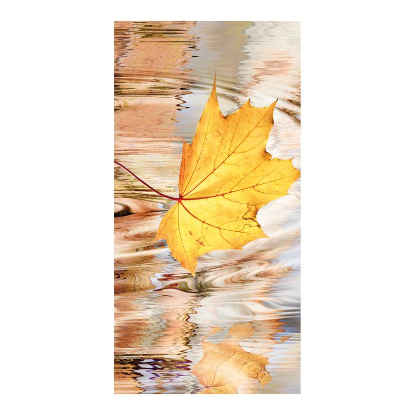 "# Motivdruck ""Herbstblatt"", 180x90cm Papier"
