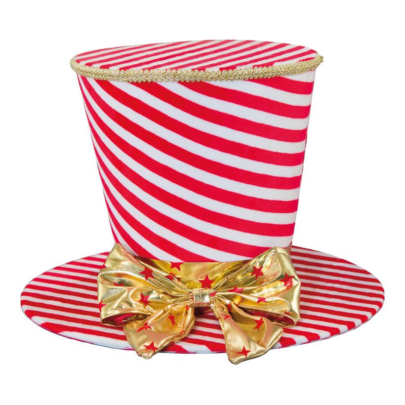 Hut, 24,5x35x35cm aus Pappe, mit Stoffüberzug