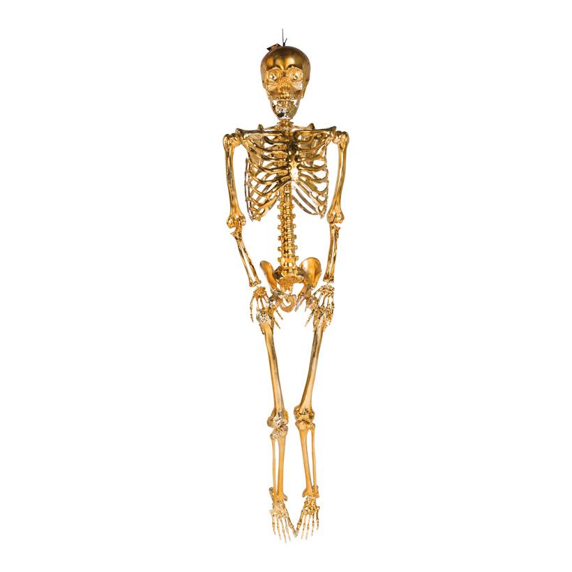 Skelett mit Hänger, 95cm beweglich, aus Kunststoff