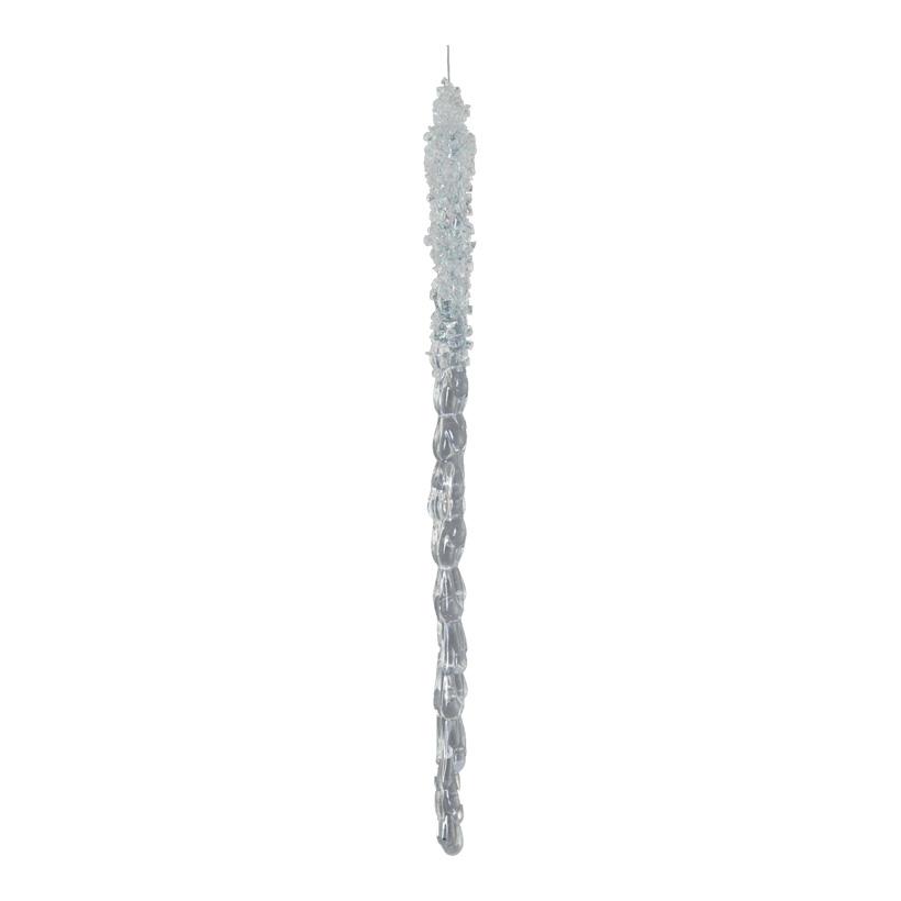Eiszapfen, 30cm mit Hänger, 4 St./Karte
