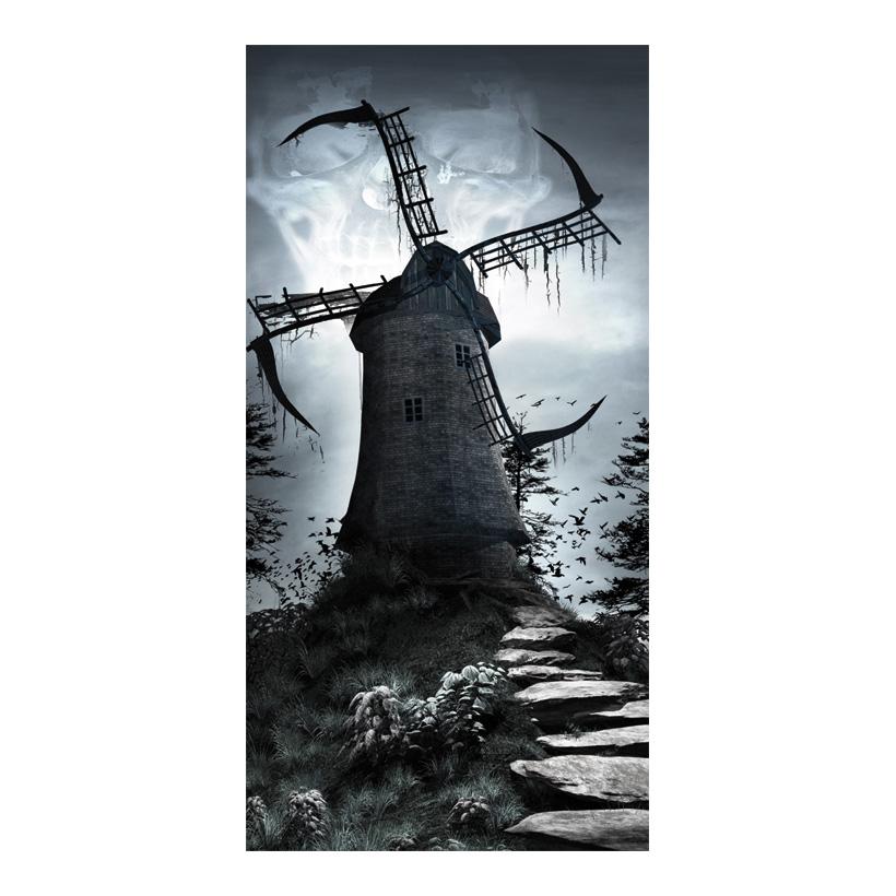 "# Motivdruck ""Windmill of death"", 180x90cm Papier"